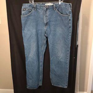 Lee mens size 42x30 regular fit jeans